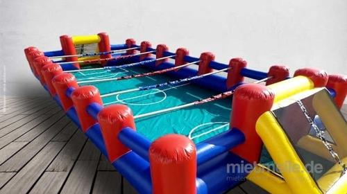 XXL-Menschenkicker  / Human Table Soccer  14x6m ***Teambuilding – Wettbewerb – Teamwork***