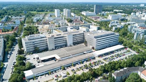 Große Büroflächen mit Teeküche und Empfang mit Post- und Paketannahme in München