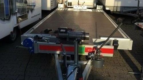 Autotransportanhänger Autotransporter Autoanhänger elektrische Winde 3,5t