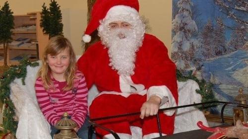 Fotoaktion mit dem Weihnachtsmann auf dem Schlitten inkl. 19% MwSt.