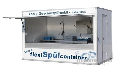 Spülcontainer Geschirrspülmobil Spülmobil Spülanhänger Spülküche