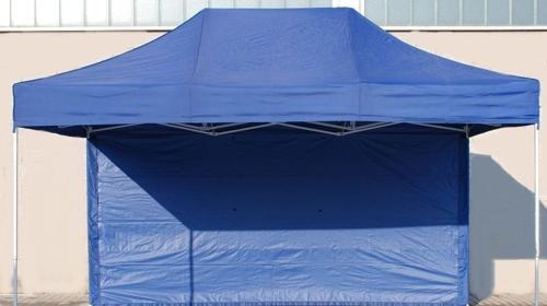 Faltzelt 4,5 x 3 m, blau inkl.19% MwSt.