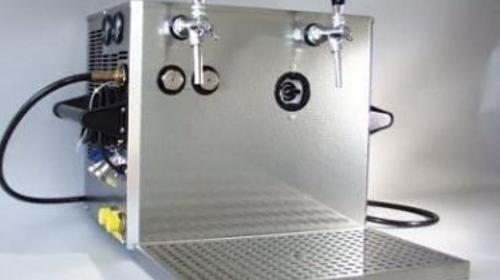 Durchlaufkühler für Bier