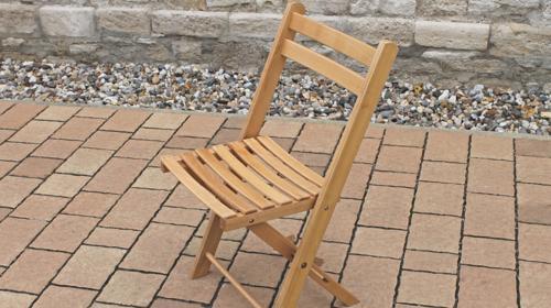 Holzklappstuhl Festzeltstuhl Klappstuhl Konzertstuhl Stuhl Stühle für Biertisch