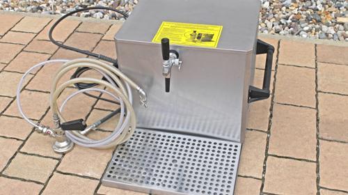 Zapfanlage Durchlaufkühler Bierkühler Bierzapfanlage