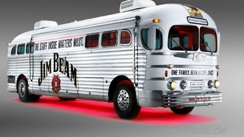 """""""Jim Beam Bus"""" historischer Greyhound Bus von 1948.cooler geht nicht"""