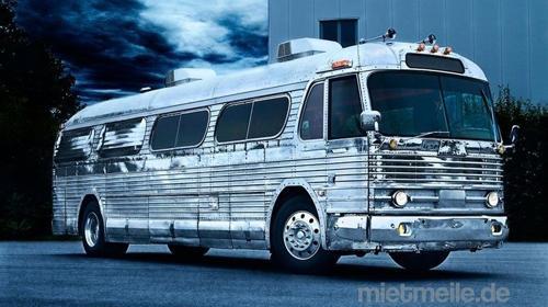 """""""Independence Greyhound Bus"""" historischer Greyhound Bus von 1948. Cooler geht´s nicht"""