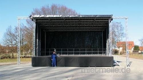 Mobile Bühne Trailerbühne Stagemobil XXL 10x6m