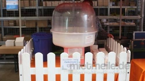 Zuckerwattenmaschine incl. Material für 300 Portionen