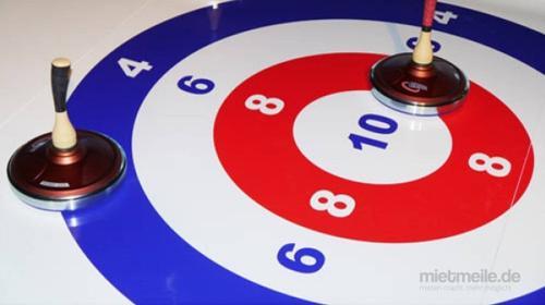 Eisstock schießen - XXL-Fun-Curling 8x2m - Eistockbahn 12x2m