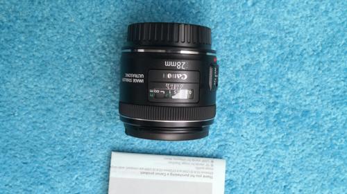 Canon EF 28mm f 2.8 IS USM Weitwinkel EF-Objektive, 58mm