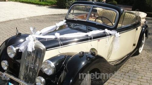 Hochzeitsauto Oldtimer Cabrio Hochzeitsfahrt
