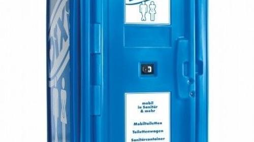 Veranstaltungs-Toilettenkabine mit Handreinigungsspender/Miettoilette/Mobile Toilette/ Toilette/ DIXI-Klo/Zertifizierte Entsorgung/Hygiene/Waschbecken/Toilettenwagen