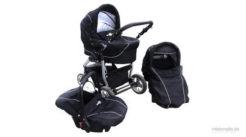 Kombi-Kinderwagen 3 in 1 Buggy Babyschale