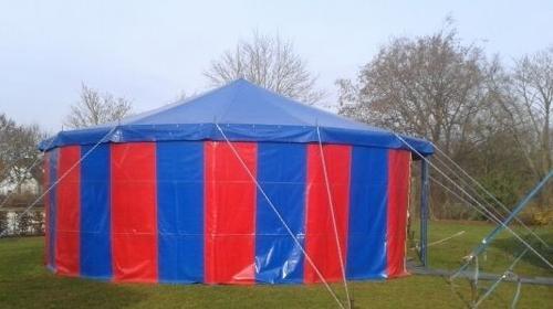 Zirkuszelt / Circuszelt 10m Durchmesser