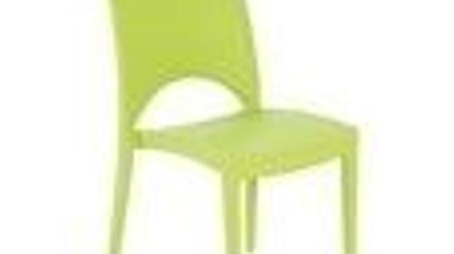 "Designstuhl ""Majestic"" apfelgrün, Kunststoff"