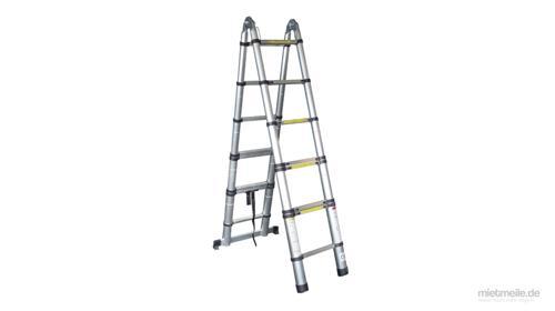 Teleskop-Leiter Stand-Leiter Treppenleiter 8x2