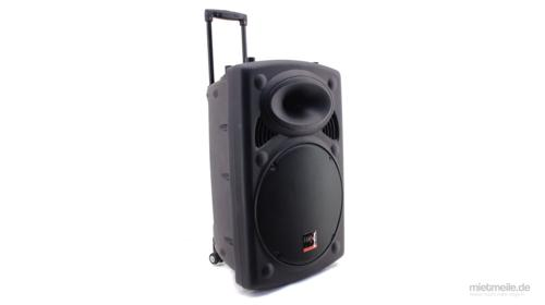 Profi PA Anlage Mobile Musikanlage Lautsprecher