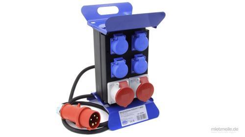 Baustromverteiler CEE Stromverteiler-Kasten IP44