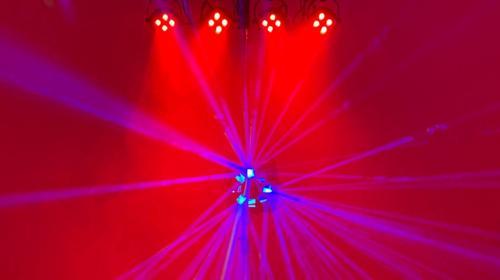 Lichtanlage / LED Lichtanlage / Licht Komplettsystem / Partybeleuchtung / Tanzlicht