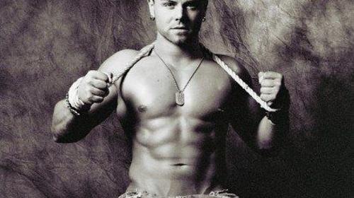 Sexy Stripper LEX ... starke Muskeln