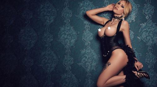 Sexy DESTINY DOLL ; gerne kurzfristig STRIPPERIN - Die blonde Verführerin