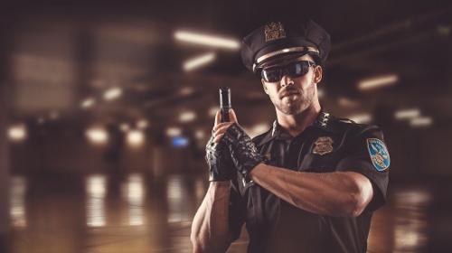 Sexy POLICE Stripper -  charmant witzig und zugleich HOT  ...WOW