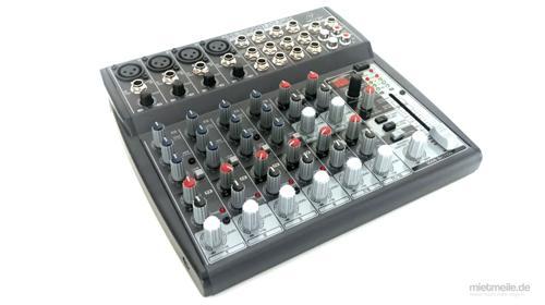 Mischpult 6/12 Kanal Band FX Mixer Kompaktmixer