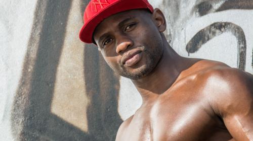 Absoluter AFRO-Traummann: Yookie   Stripper der Extraklasse