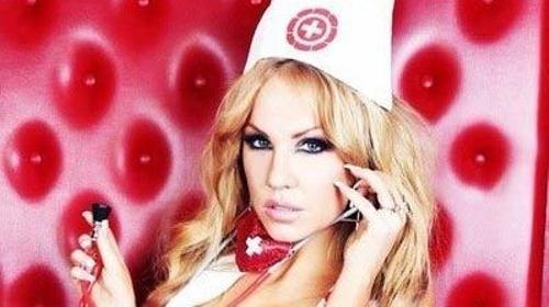 Krankenschwester Stripshow zum Geburtstag buchen