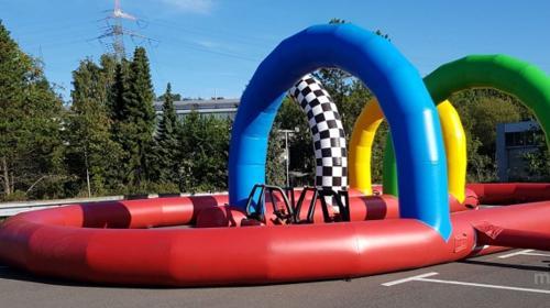 Bobby-Car-Parcour mieten NRW weite anlieferung ! (keine Hüpfburg)