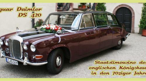 Jaguar Daimler DS 42 / Englische Staatslimousine