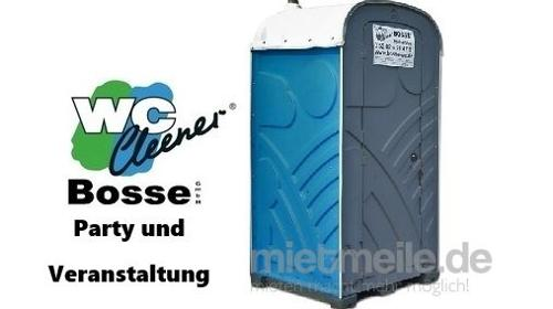 WC-Kabine, mobile Toilette, Party, Veranstaltung, Kurzzeitmiete