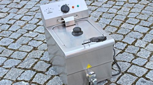 Fritteuse Friteuse Gastro Elektro-Fritteuse 8l
