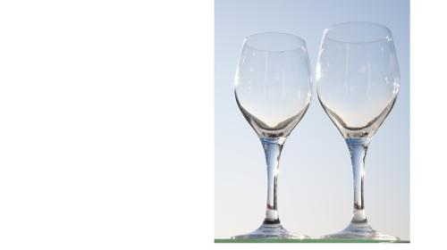 Weingläser der Serie Carat