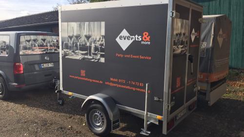 Kühlanhänger / Kühlwagen zu vermieten !