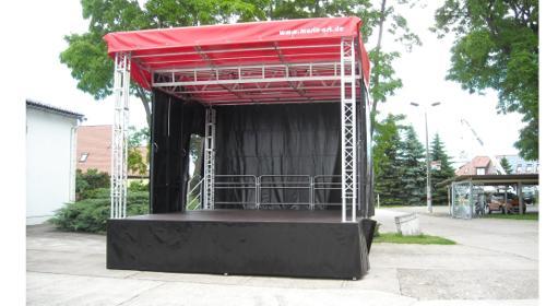 Bühne 30m² – Multistage für Stadtfest, Kundgebung, Präsentation, Roadshow, Events und Konzert