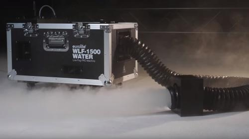 Bodennebelmaschine mieten ohne Trockeneis und Co2! Low Fog / Bodennebel