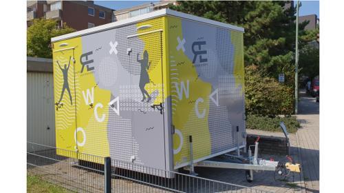 Toilettenwagen - WC-Wagen
