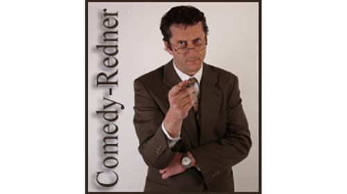 "Comedy-Redner ""Prof Dr. Franz Hansen"""