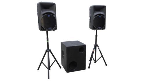 PA Anlage DJ Tonanlage Hochzeit Feier aktiv