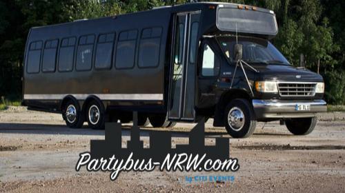 Partybus Essen mieten >> Partybus-NRW.com