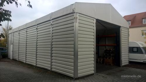 Lagerhallenzelt Spannweite 7,5 m Seitenlänge variabel