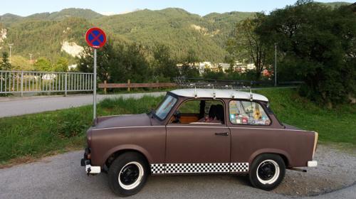 Trabant Trabbi Trabi mieten Oldtimer Hochzeitsauto