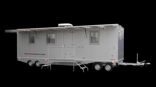 Mobilen Mannschaftswagen | Bauwagen mieten