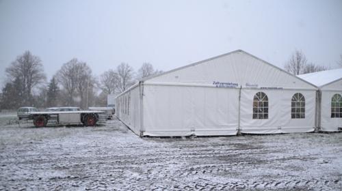 Lagerzelt Bauzelt Lagerhalle mit oder ohne Boden mobil Kurzzeit Langzeit