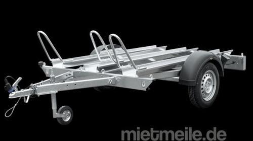 Motorradanhänger für 3 Motorräder ***100 Km/h Zulassung***, Motorradhänger, Motorradtransporter
