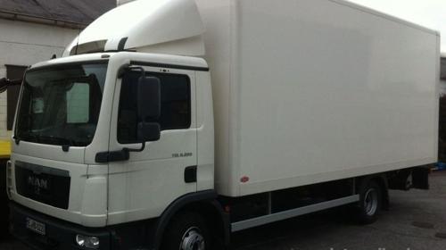 Umzug mit LKW 7,5t nach Norwegen
