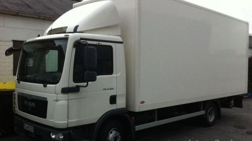 Umzug mit LKW nach Portugal