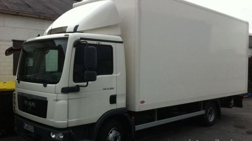 Umzug mit LKW nach Finnland